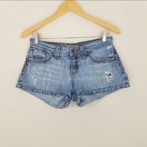 Lucky Brand Distressed Jean Shorts Size 2
